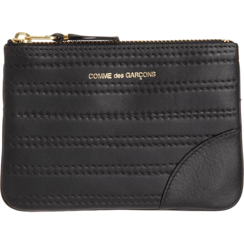 Comme des Garçons Embossed Stitch Zip Pouch at Barneys New York at Barneys.com