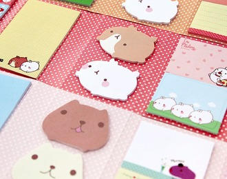 home accessory bunny stationary back to school school supplies cute kawaii dog