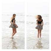 skirt,flower skirt,high waisted skirt,hipster,High waisted shorts,skater skirt,tank top