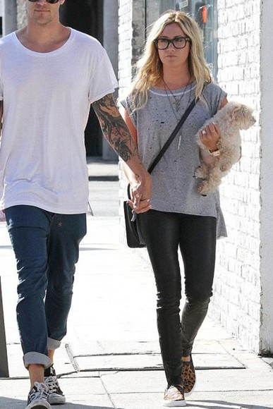ashley tisdale shoes top streetstyle