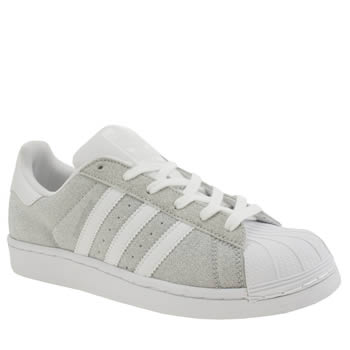 Adidas Superstar Womens Silver Stripes