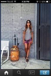 skirt,ombre,floral,tan,sandals,gladiators,mini skirt,colorful,model,tumblr