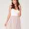 Buy motel annali strapless cream bustier dress in natural at motel rocks