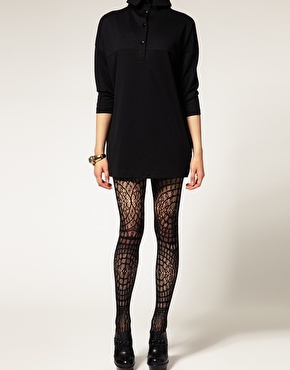 ASOS | ASOS - Collants en dentelle au crochet chez ASOS