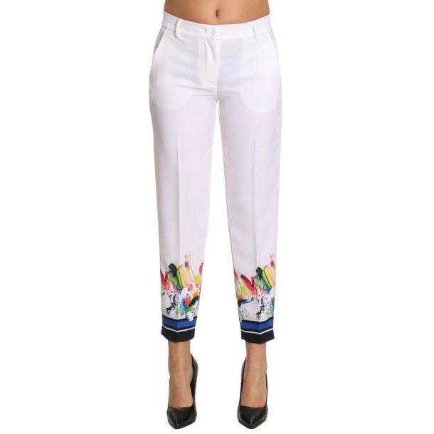 Iceberg pants women white