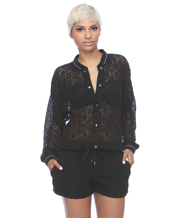 LACE YOUR BETS Romper – FLYJANE