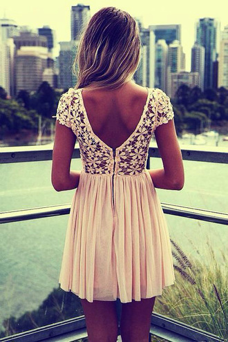 white dress pink dress floral dress dress flower pink flower dress white flower dress low back short dress short dress low back sweet summer dress dress with flower low back dress cute dress simple dress white simple dress