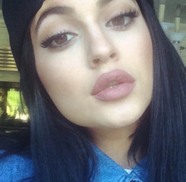 make-up kylie jenner lipstick lips