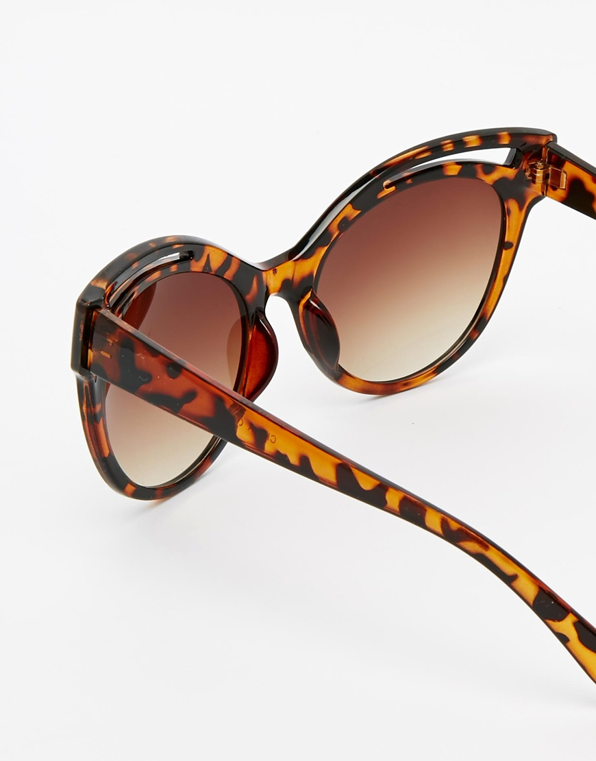 AJ Morgan Flamingo Cat-Eye Sunglasses at asos.com