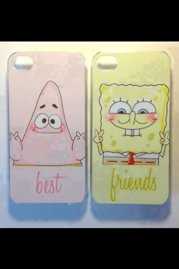 phone cover spongebob patrick
