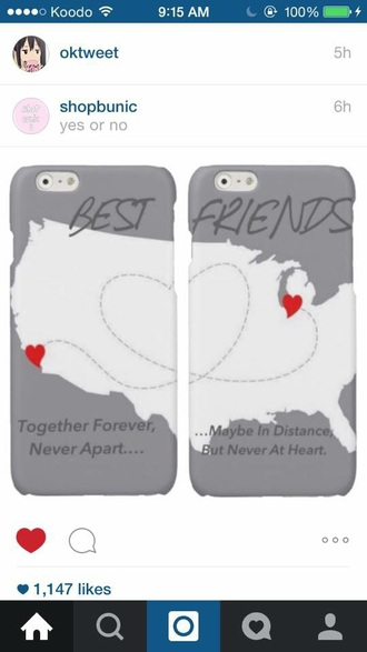 phone cover distance friendship iphone 5 case quote on it phone case