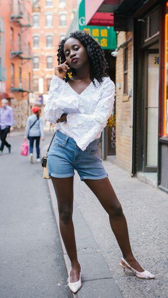 shorts shortsd denim denim shortst top bag shoes