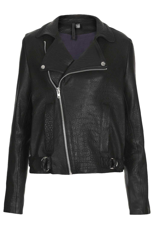 Premium leather biker jacket by boutique