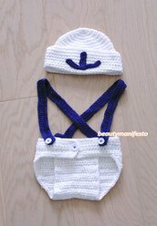 kids fashion,guys,baby clothing,boy/girl,baby,newborn pants,photography prop,baby child newborn,boys set,nautical hat set,anchor hat,anchor set,navy inspired,sailor set,accessories,knit sailor hat,sailor onesie,knit anchor hat,beautymanifesto,pants