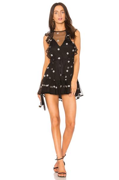 Alice McCall dress daisy dress daisy black