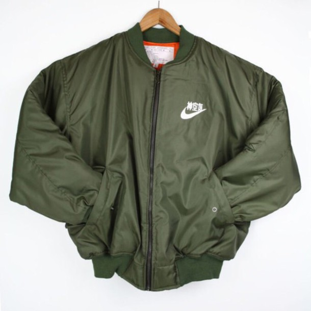 Jacket: flight jacket ma 1 flight jacket bomber jacket vintage