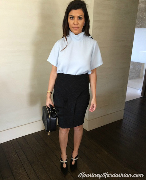 kourtney kardashian skirt