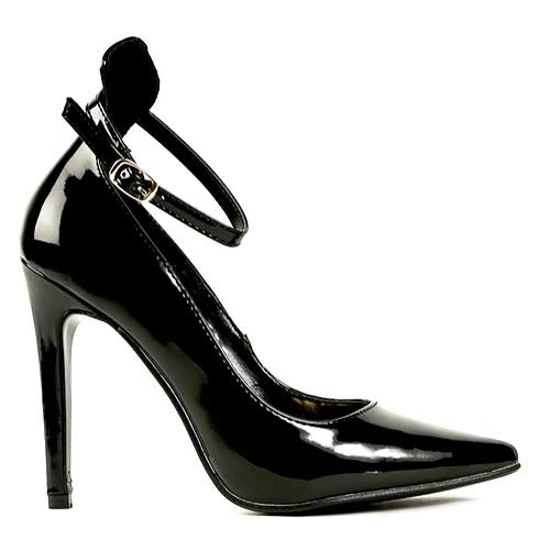Veny black nude red white pointy toe pump stiletto heels