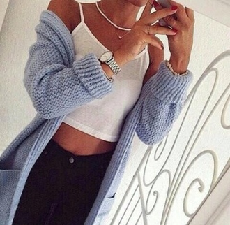 cardigan wool knitwear