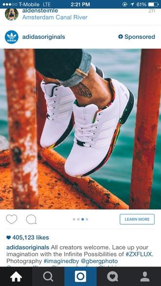 shoes adidas white