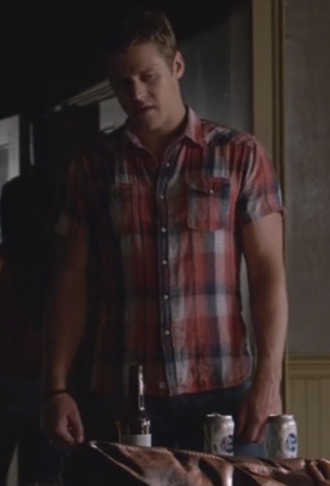 zach roerig the vampire diaries mens shirt menswear flannel shirt