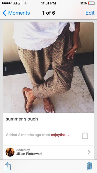 pants summer outfits style hipster mc hammer