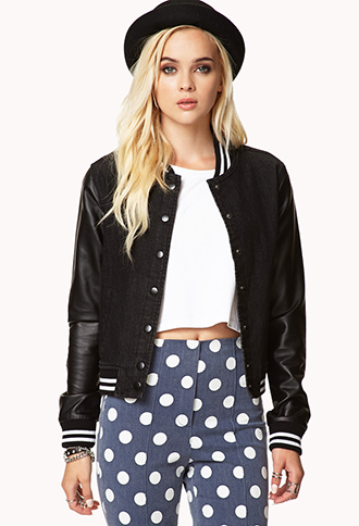Game Time Varsity Jacket | FOREVER21 - 2078398250