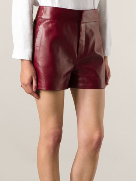 chloé zipped up shorts