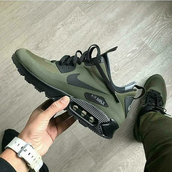 shoes army green nike air max x