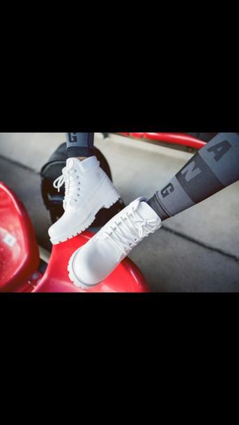 shoes tights alexander wang leggings white shoes