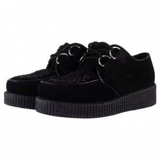 Truffle Creeper Shoes | Ladies Creeper Shoes | Black Creeper Shoes