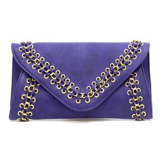 bag purple braided clutch royal blue clutch embellished clutch braided clutch blue clutch purple purse clutch oversized envelope clutch studded handbag