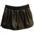 ROMWE | Black Curved Hem Shorts, The Latest Street Fashion