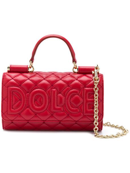 Dolce & Gabbana mini women bag red