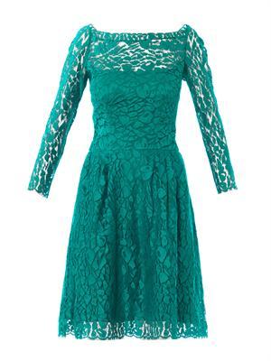 Lace long sleeved dress | Issa | MATCHESFASHION.COM