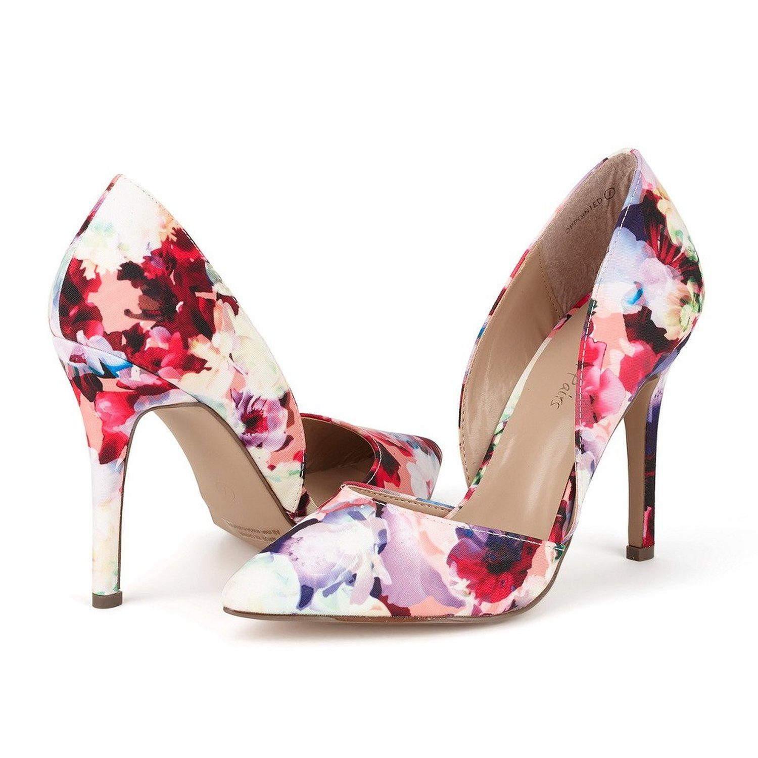 46e459b3e50e3 Amazon.com | DREAM PAIRS OPPOINTED Women's D'Orsay Style Pointy Pumps  Classic Stiletto Heel Shoes New Floral Size 5.5 | Pumps