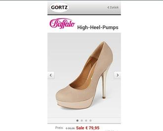 shoes buffalo high heels pumps pretty