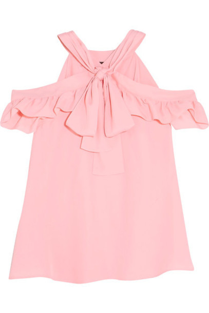 BOUTIQUE MOSCHINO top cold pink