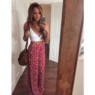 bag tan bag braided strap slouchy brown bag handbag pants charlotte crosby
