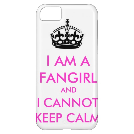 I am a fangirl and i cannot keep calm iphone case cover for iPhone 5C | Zazzle.co.uk
