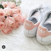 shoes,adidas,peach color,stan smith,peach,blush pink,girly,sneakers