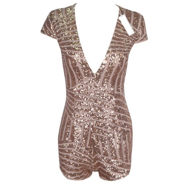 4dbc073d163c romper date outfit sparkle glitter romper cute sexy christmas new year's eve  occasion office outfits