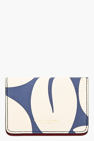 leaf women accessories print blue burgundy wallet bag