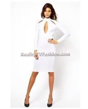 dress,keyhole dress,bodycon dress,white dress,soldout
