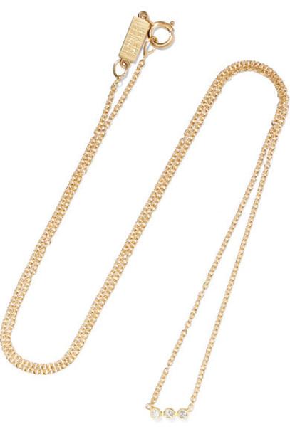 JENNIFER MEYER necklace diamond necklace gold jewels