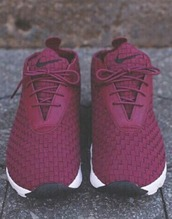 shoes,burgundy shoes,roshes