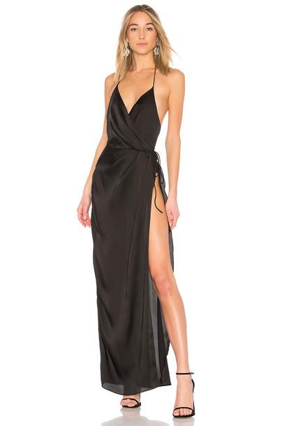 X BY NBD gown black dress