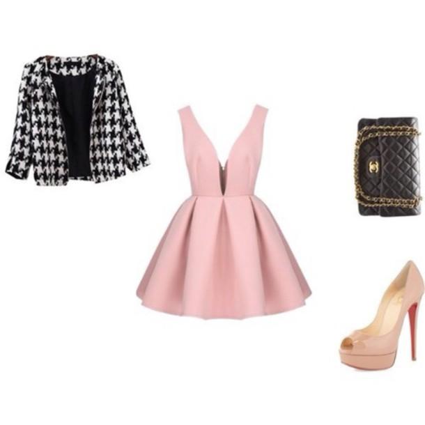 dress dress pink dress cute dress