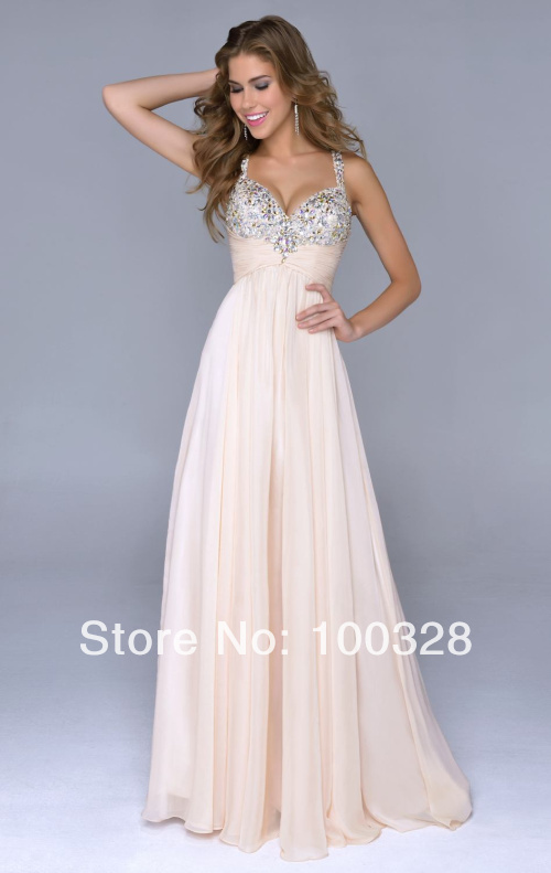 Aliexpress.com : buy 2014 new arrival sexy sweetheart with sequined spaghetti strap a line floorlength court train sleeveless chiffon long prom dress from reliable sweetheart corset wedding dresses suppliers on rose wedding dress co., ltd
