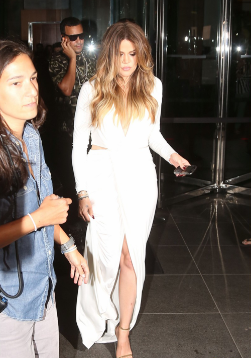 Lethalbeauty ? khloes white wrap dress